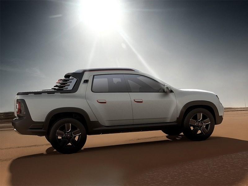 Новый Renault Duster Oroch - Renault Duster Oroch concept 2014 На пляж!