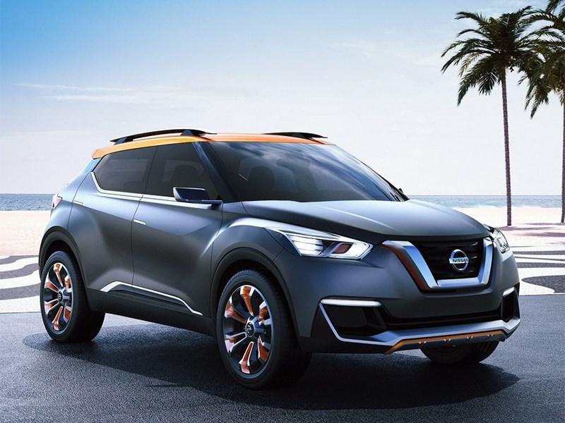 Nissan Kicks concept 2014 Только спокойствие