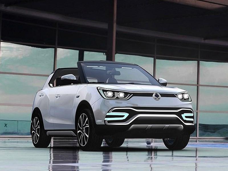 SsangYong XIV-Air Concept 2014 вид спереди