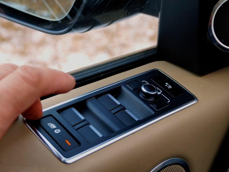 Range Rover LWB 2014 клавиши управления электростеклоподъемниками