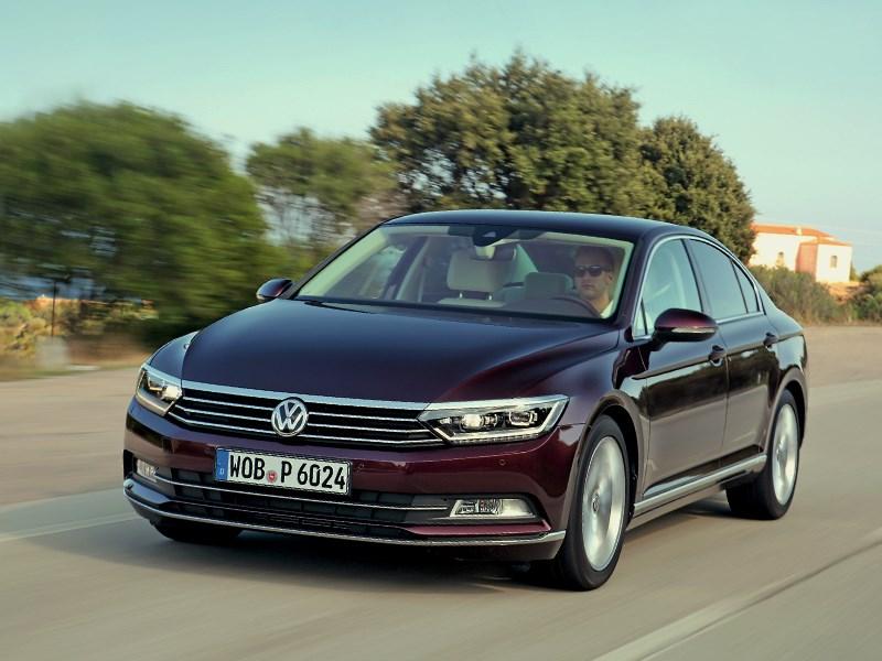 Volkswagen Passat - volkswagen passat 2015 меньше, да... больше