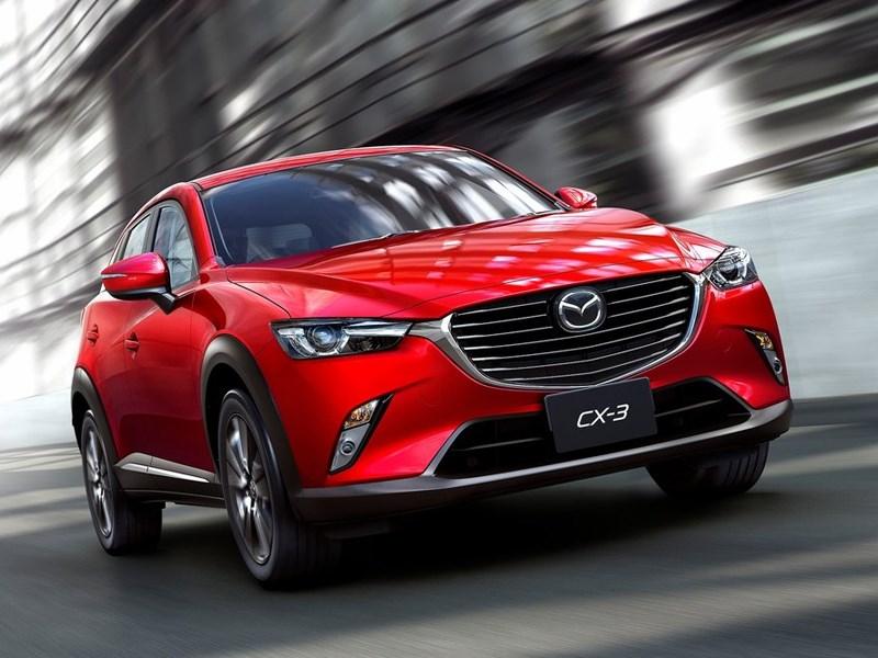 Mazda CX-3 2015 Младший брат