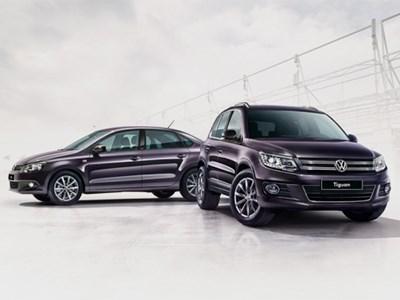 Volkswagen везет в Россию специальные версии моделей Tiguan и Polo