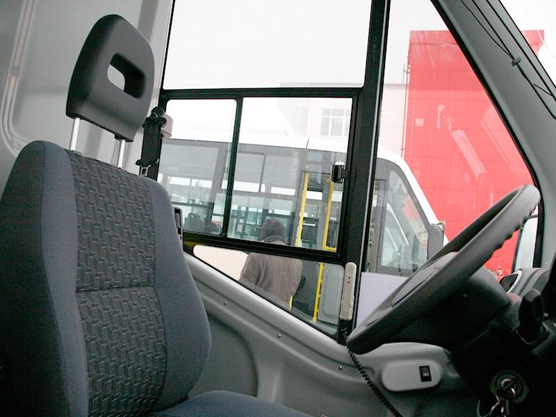 Gazel Next 2014 водительское место