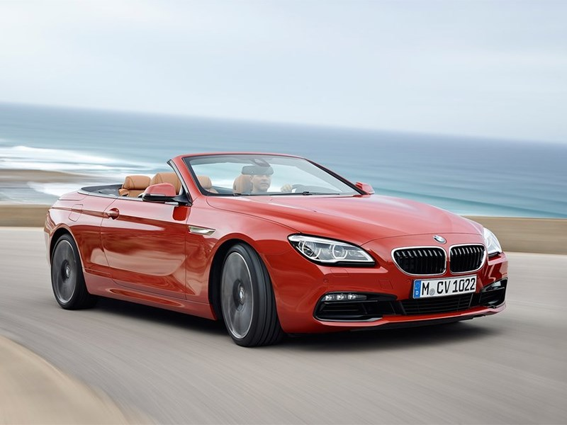 BMW 6-Series Convertible 2015 вид спереди