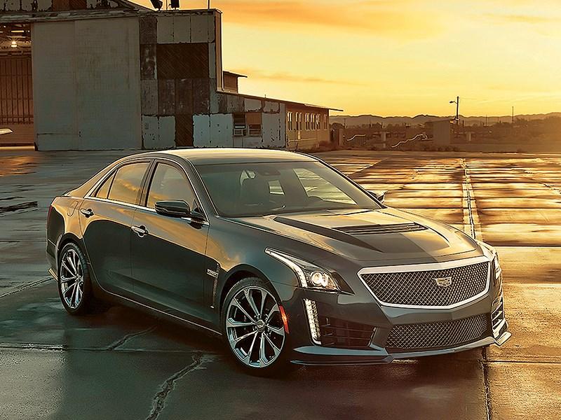 Cadillac CTS-V 2016 Быстрый «янки»