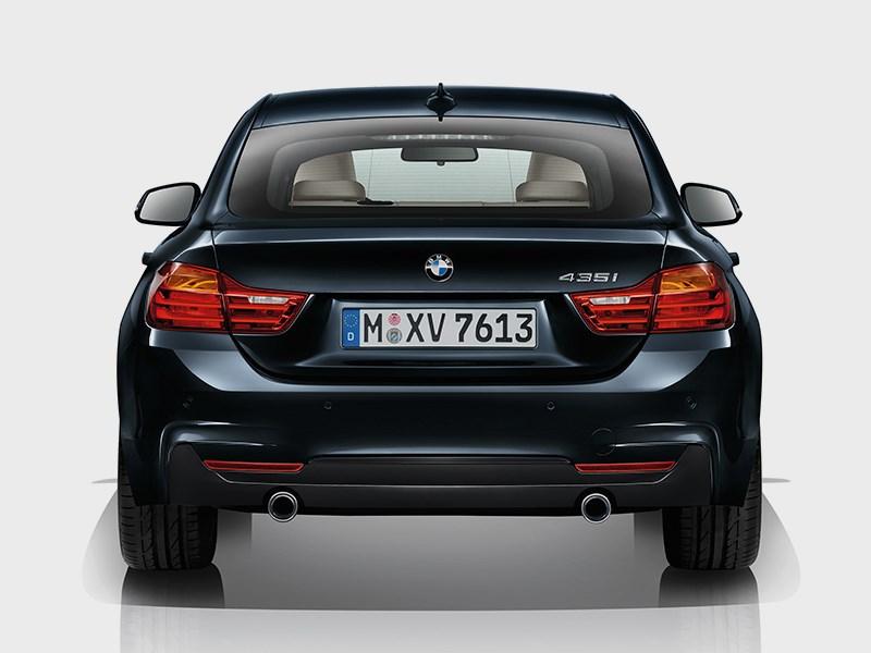 BMW 4 Series Gran Coupe 2014 вид сзади фото 4