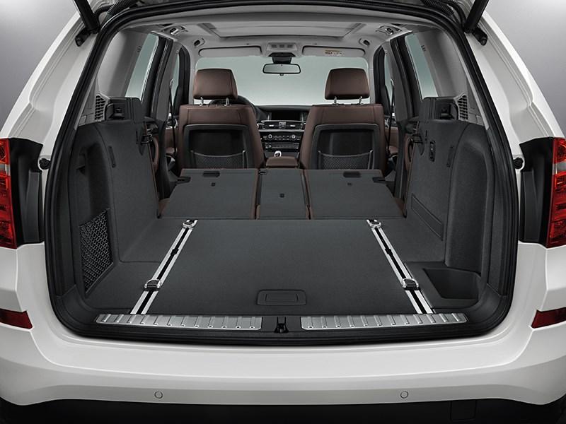 BMW X3 2014 багажное отделение