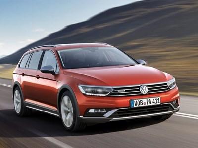 Volkswagen покажет в Женеве новый полноприводной Passat Alltrack