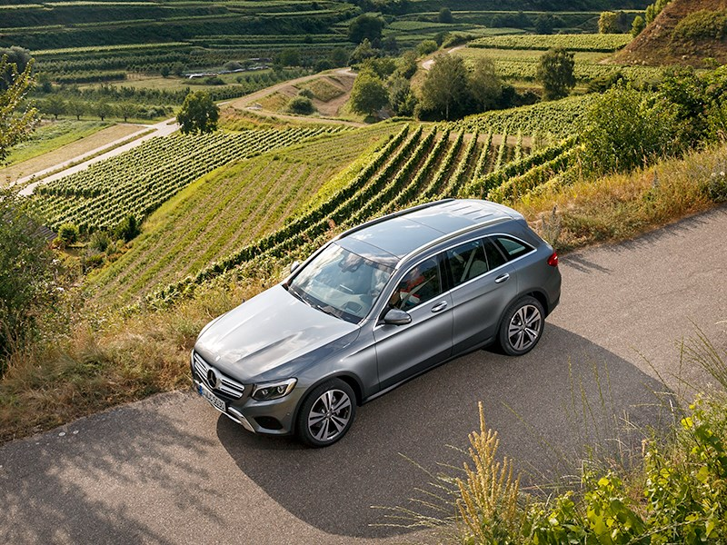 Mercedes-Benz GLC 2016 вид сверху