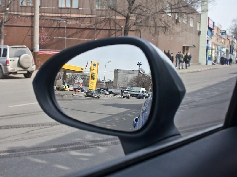 SEAT Leon FR 2012 боковое зеркало