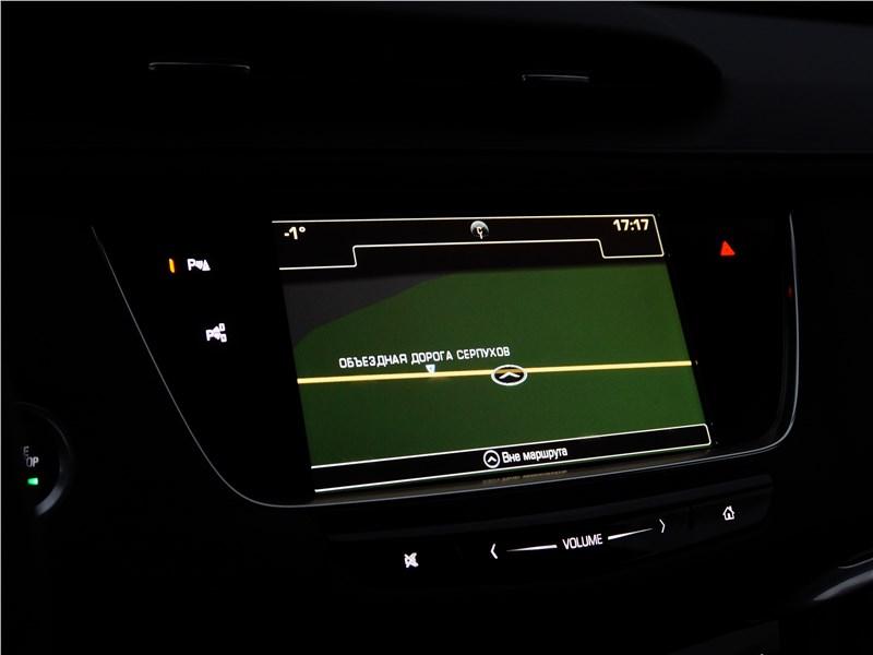 Cadillac XT5 2017 дисплей