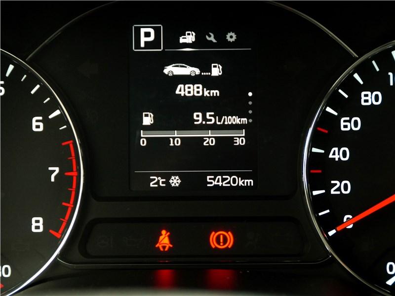 Kia Cerato 2016 приборная панель