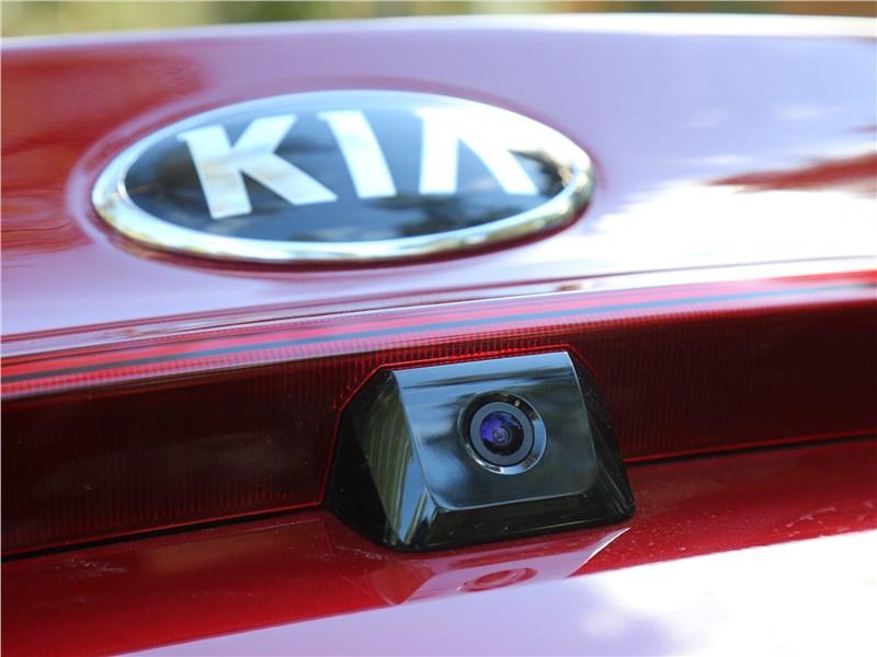 Kia Rio 2017 видеокамера