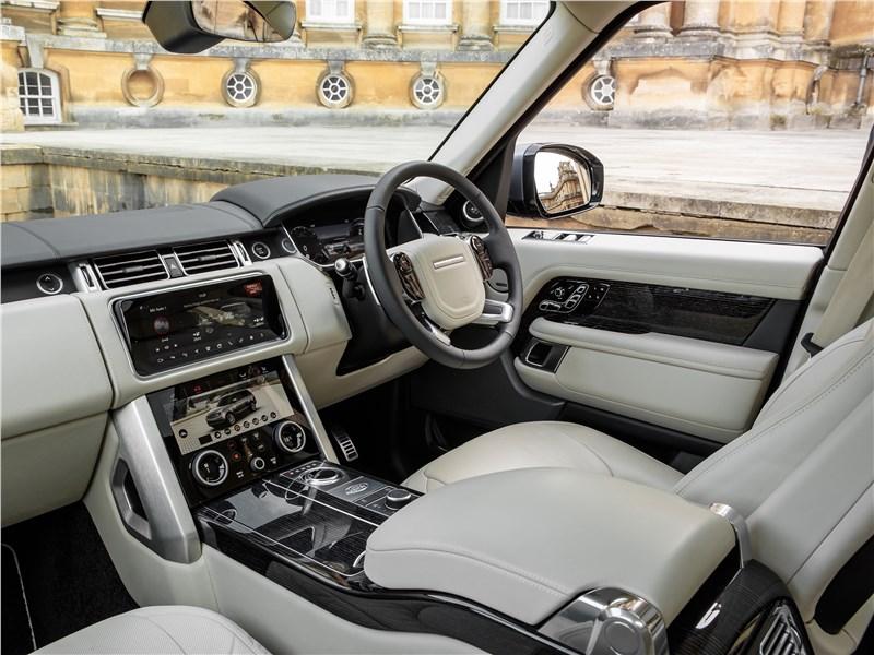 Land Rover Range Rover PHEV 2018 салон