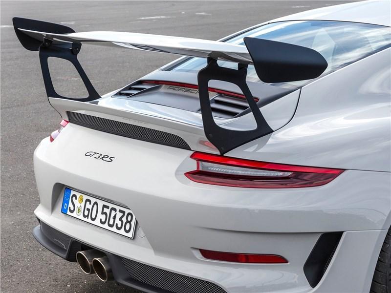 Porsche 911 GT3 RS 2019 антикрыло