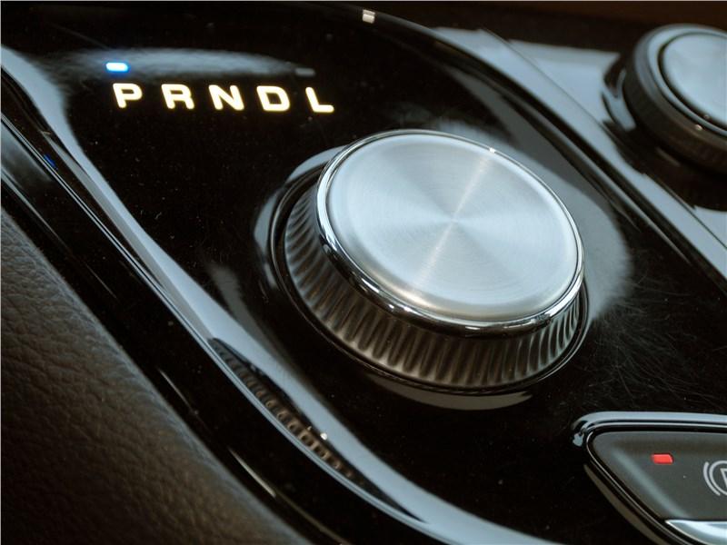Chrysler Pacifica 2017 переключение режимов движения