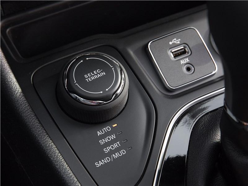 Jeep Cherokee 2019 система Selec-Terrain