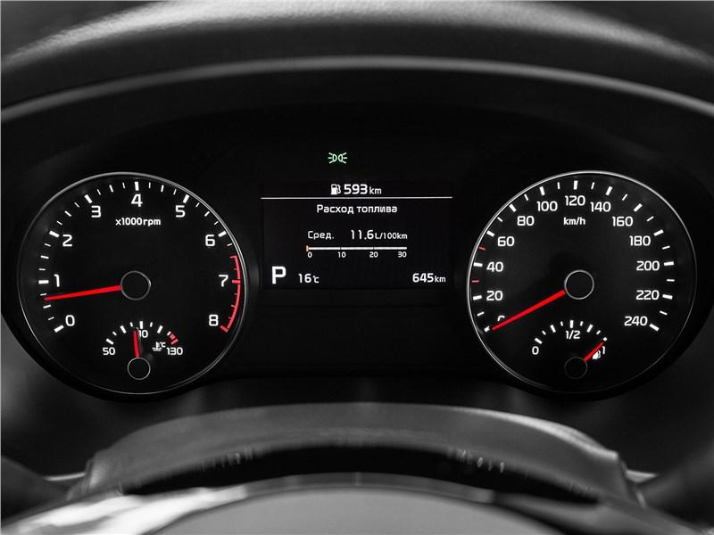 Kia Sportage GT Line 2019 приборная панель