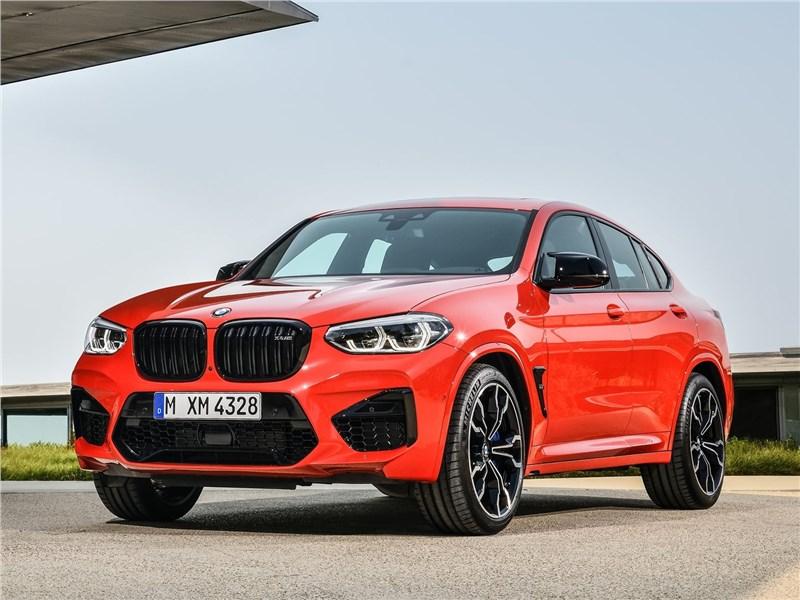 BMW X4 M Competition 2020 вид спереди