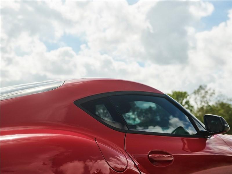 Toyota Supra 2020 обтекаемый профиль