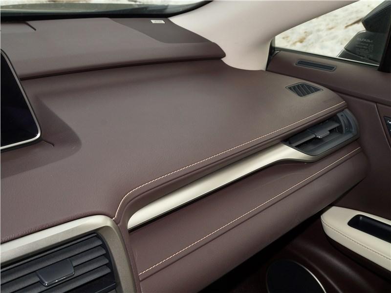 Lexus RX 350L 2018 полка