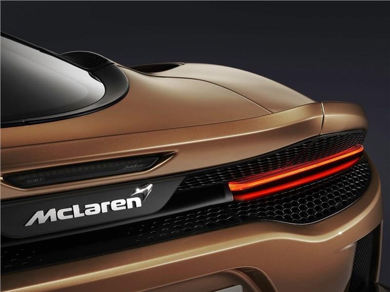 McLaren GT 2020 задний фонарь