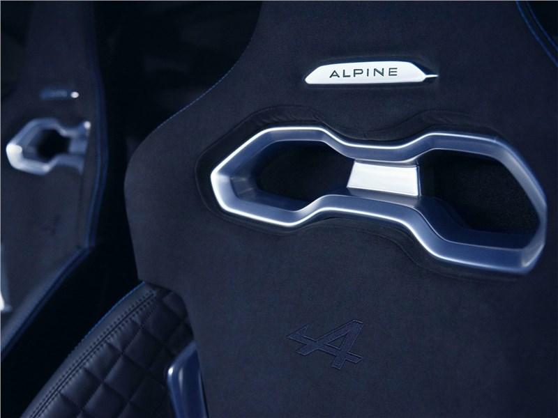 Alpine A110 2018 кресло