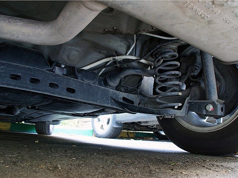 Volkswagen Golf VII 2013 задняя подвеска