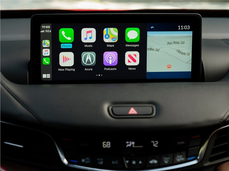 Acura TLX (2021) монитор