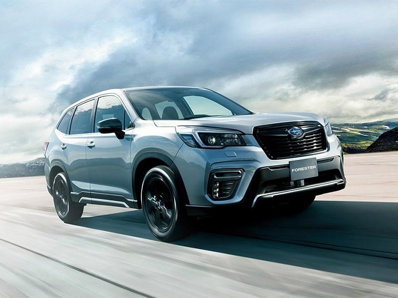Subaru представила Forester с турбомотором