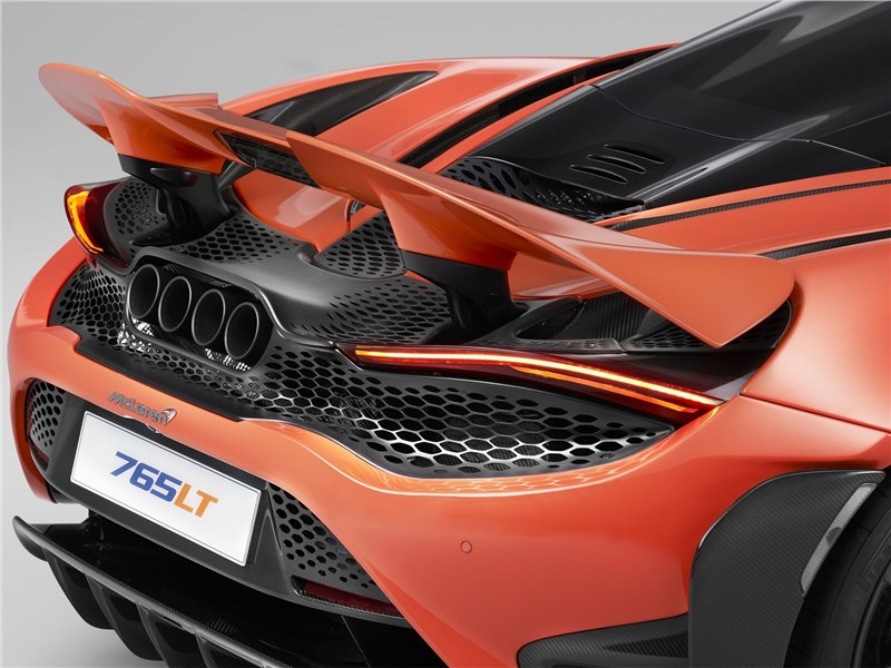 McLaren 765LT (2021) антикрыло