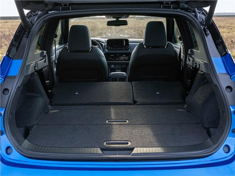 Nissan Qashqai (2022) багажное отделение