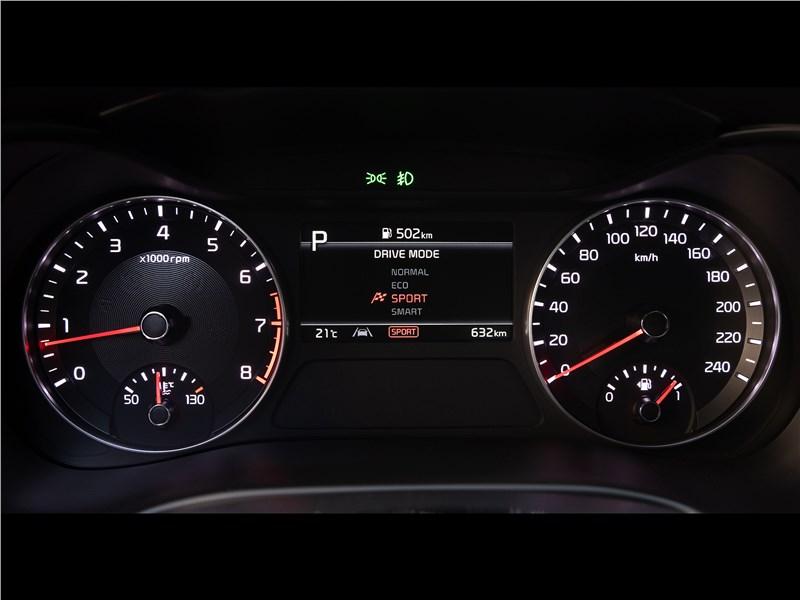 Kia Cerato (2022) приборная панель