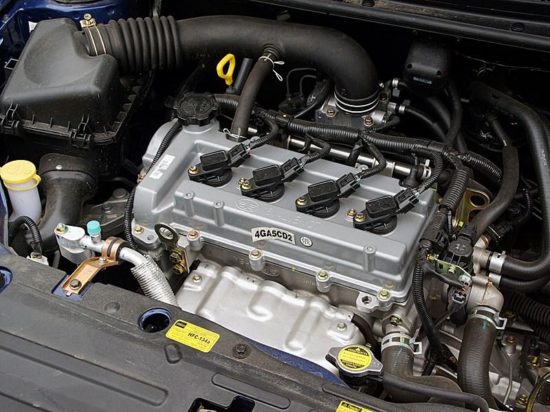 FAW V5 2012 двигатель