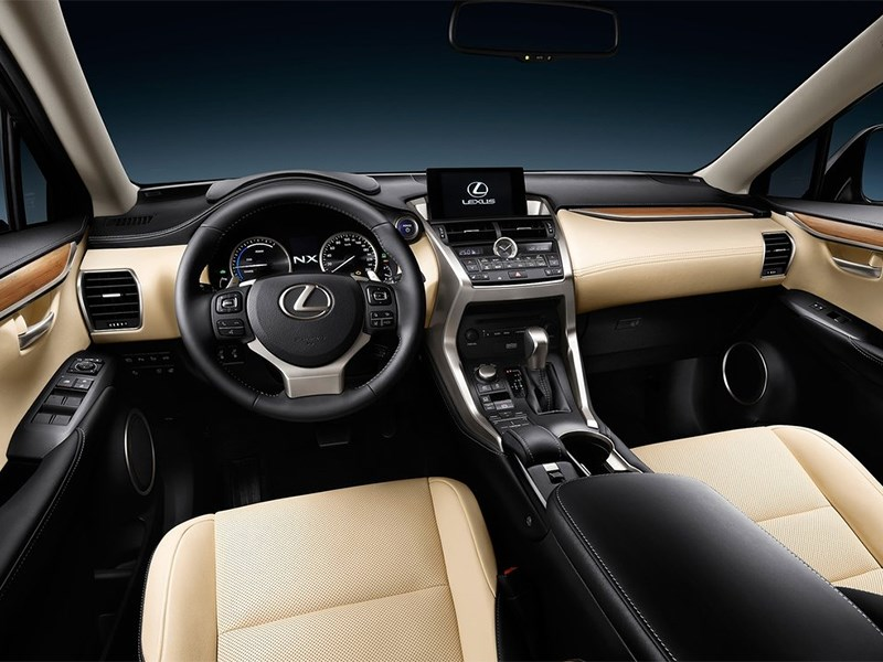 Lexus NX 2014 салон