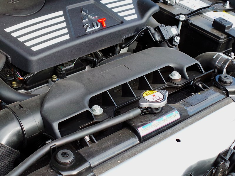 Great Wall Hover H3 2014 воздухозаборник двигателя