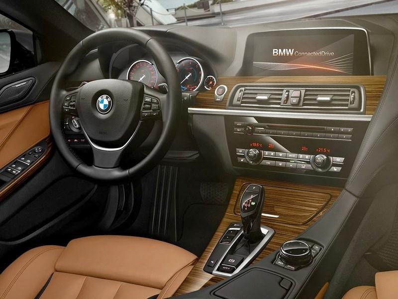 BMW 6-Series Gran Coupe 2015 водительское место
