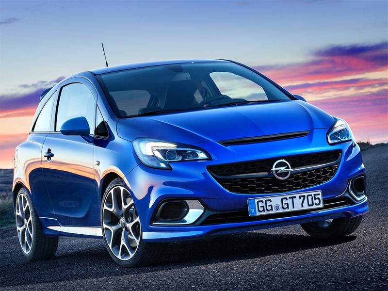Opel Corsa OPC 2015 вид спереди