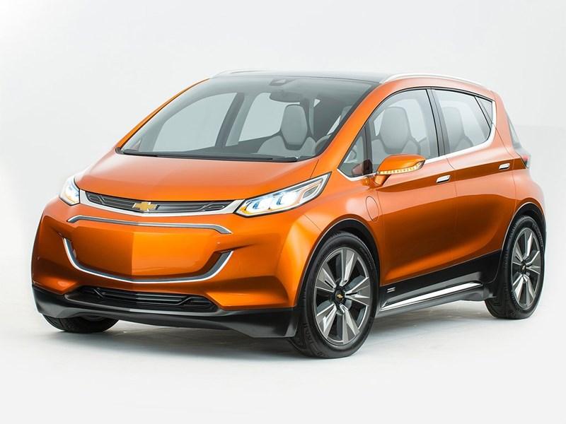 Chevrolet Bolt EV Concept 2015 В дорогу дальнюю