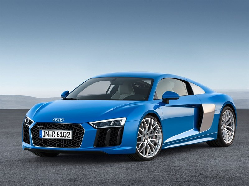 Audi R8 2016 Спортподготовка