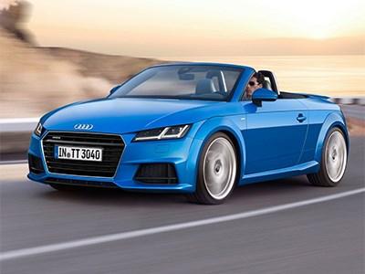 Открытый родстер Audi TT доступен для заказа в РФ