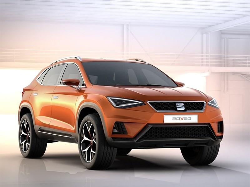 Новый SEAT 20V20 - Seat 20V20 Concept 2015 Пропуск в мир кроссоверов