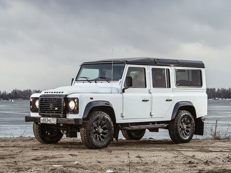 Land Rover Defender 110 - land rover defender 110 2012 настоящий полковник!
