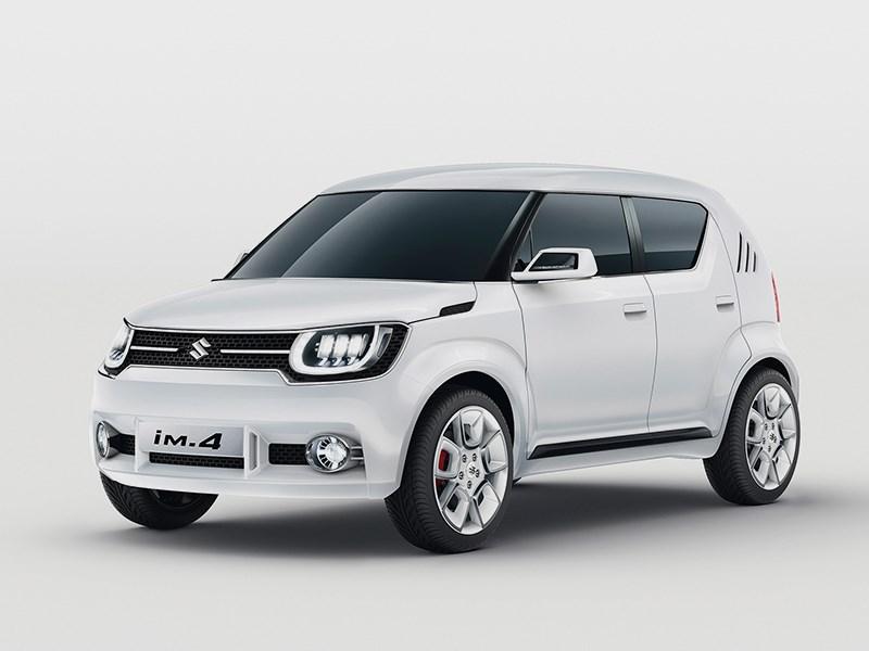 Новый Suzuki iM-4 - Suzuki iM-4 concept 2015 В ногу со временем