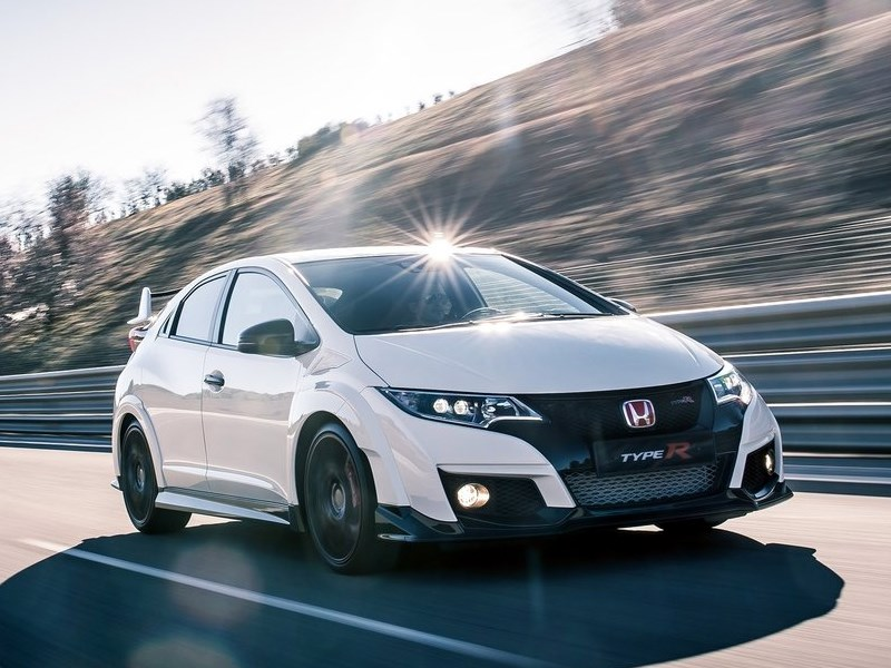 Новый Honda Civic Type R - Honda Civic Type R 2015 Обычный спорт