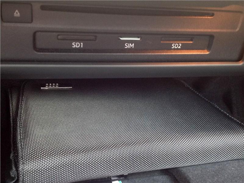 Audi A5 Coupe 2017 перчаточный ящик