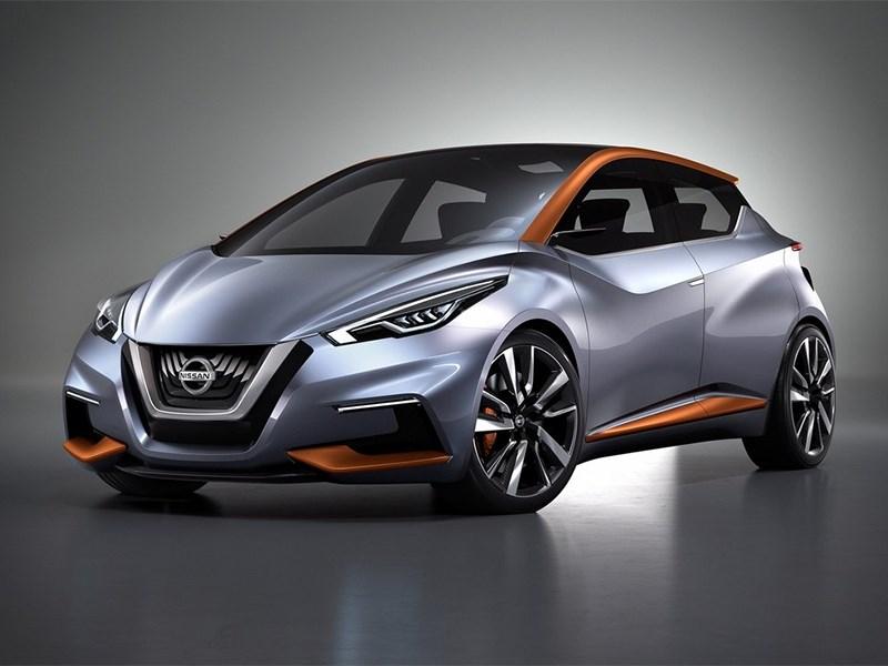 Новый Nissan Sway - Nissan Sway Concept 2015 Злюка