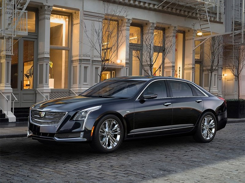 Cadillac CT6 2016 Легкой поступью