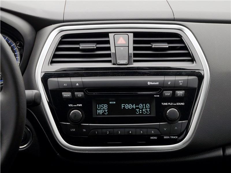 Suzuki SX4 2016 аудиосистема